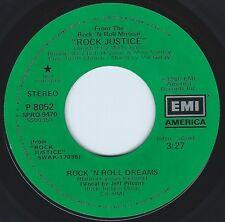 JEFF PILSON Rock 'N Roll Dreams ((**NEW 45 DJ**)) from movie ROCK JUSTICE