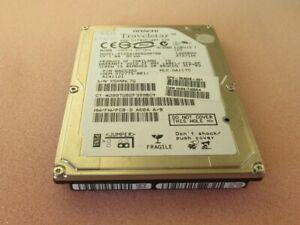 """Hitachi HTS541060G9AT00 0A25393 Travelstar 60GB 5400RPM ATA100 8MB 2.5"""" HDD"""