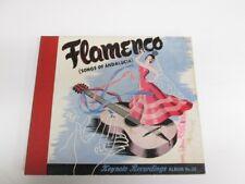 78tk album-Flamenco-KEYNOTE 112-Songs of Andalucia- 3 disc set