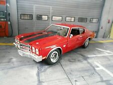 CHEVROLET Chevelle Coupe SS 1970 rot red US Muscle Car Ertl AMT TOP GEAR 1:18