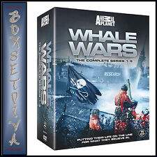 WHALE WARS - COMPLETE SEASONS 1 2 3 4 & 5 *BRAND NEW DVD BOXSET*