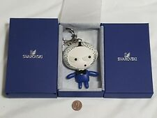 Swarovski Eliot Swing Sing Shine Bag Charm 1133813 blue elliot 3.5""