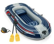 Bestway Hydro Force Inflatable 2 Person Raft Kayak Treck X2 Set with Oars