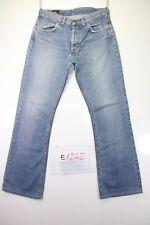 Lee Denver Bootcut (Cod. E1242)Tg45 W31 L36 jeans usato ACCORCIATO vintage Zampa