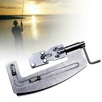 Stainless Steel Semi Automatic Fishing Hook Line Tier Binding Gadget Device A1S1