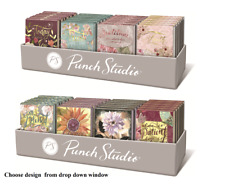 Punch Studio H8 Pocket Note Pad W/ Gems 3x4in 75pg - Choose Design