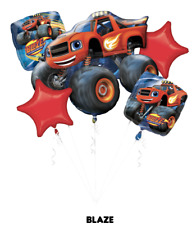 BLAZE AND THE MONSTER MACHINES, Foil Balloon Bouquet 5, Anagram SEALED