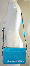 COACH LEGACY PERFORATED EAST WEST ROBIN LEATHER SWINGPACK PURSE 48979