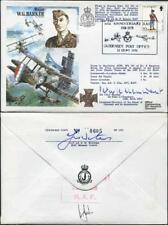 HA35c Major W.G. Barker Signed by Sir Peter Le Cheminant (A)