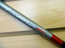 "NEW GRAFALLOY PROLAUNCH RED 65 STIFF FLEX GRAPHITE SHAFT .335 TIP  46"" LONG"