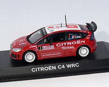 Citroen c4 WRC Rally de Monte Carlo, 2008, 1:43 norev