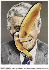 Urs Fischer exhibition poster, an artist featured by Supreme