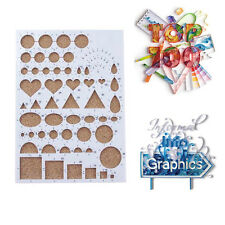Paper Quilling Template Mould Board Handcrafts Art Means Scrapbooking Mold