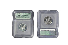 2001-S 25c New York Silver State Quarter Proof Coin ICG PR70 DCAM