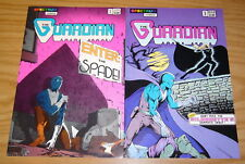 the Guardian #1-2 VF/NM complete series - spectrum comics - fred schiller hero