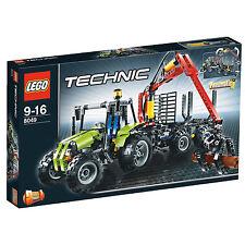 LEGO Tecnica TRATTORE CON GRU forestale (8049)