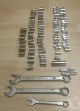 Mixed lot wrenches and sockets 80+ pieces!