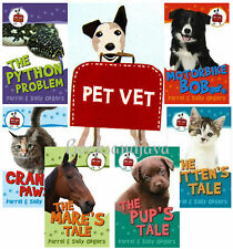 PET VET 1-6 (pb) Cranky Paws, Mare's Tale,Motorbike Bob,Python,Kitten,Pup's Tale