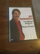 Jeff Foxworthy DVD- You Might Be a Redneck If... &  Check Your Neck  New Sealed