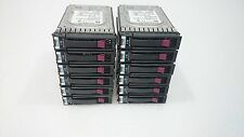 "12 x HP 3TB SAS Hard Drive 3.5 ""Enterprise class 625140-001 625031-b21 IVA INC"
