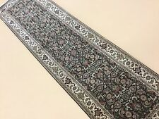 "2'.2"" X 7'.11"" Super Herati Persian Oriental Rug Narrow Runner Hand Knotted Wool"