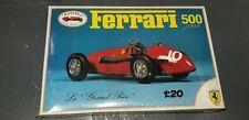 Vintage Italy Revival Ferrari 500 1953 Model Race Car Le Grand Prix