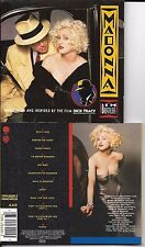 CD 12 TITRES MADONNA I'M BREATHLESS B.O.F DICK TRACY 1990 SOUNDTRACK GERMANY