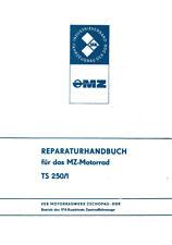 Reparaturhandbuch für das MZ-Motorrad TS 250/1 🔧 Reparaturanleitung DDR