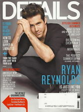 Ryan Reynolds Details Magazine Jul 2011 Grooming Guide Brit Marling Seafood