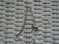 Silver Plated Greyhound Whippet Bookmark Bookmarks Gift Reading Xmas Birthday