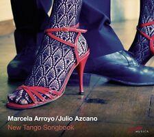 Marcela & azcano, Julio Arroyo-New Tango Songbook CD NUOVO