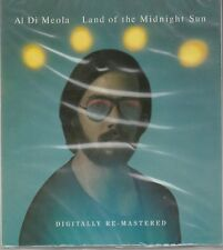 Al Di Meola Land Of The Midnight Sun Re-Mastered 2013 BGO Records New Sealed