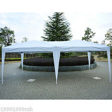10'x 20' Outdoor Pop Up Canopy Party Tent Gazebo Shelter Patio Yard Deck White