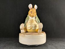 "Schmid Beatrix Potter Samuel Whiskers Musical Figurine ""Roly Poly Pudding"" (#6)"