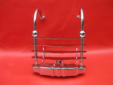 HARLEY HERITAGE SPRINGER FLSTS REAR BUMPER CHEESE GRATER 1997-2003 CHROME NEW