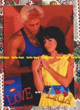 LOVE ME LICIA Cristina D'Avena Pasquale Finicelli card - cartolina MIRKO & LICIA
