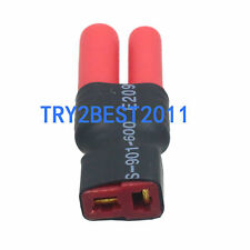 Wireless HXT 4mm Bullet Plug to Female Deans T-Plug Adapter No Wires