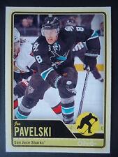 NHL 487 Joe Pavelski San Jose Sharks O-Pee-Chee 2012/13