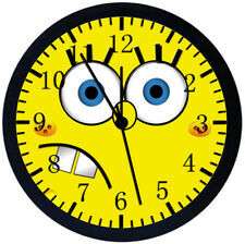 SpongeBob SquarePants Black Frame Wall Clock Nice For Decor or Gifts Z53