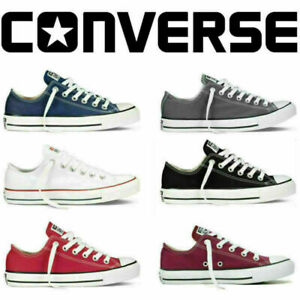 Converse Unisex Chuck Taylor Classic All Star Low Tops Canvas Turnschuhe Schuhe