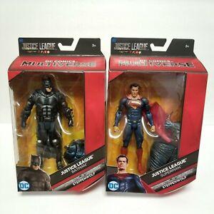 DC Multiverse Superman Batman Justice League Movie Snyder Mattel Figure Set 2017