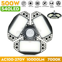 500W 540LED Garage Light LED Shop Lamp  Deformable Foldable Night Light