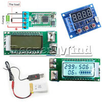 ZB2L3 Lithium Battery 18650/26650 Tester Capacity Current Voltage LCD meter