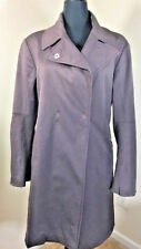 MARITHE FRANCOIS GIRBAUD Brown Womens Stretch Rain Coat Italy 42. US 32