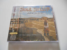 "Soul Seller ""Back to life"" Rare Hard rock japan cd W/Obi"
