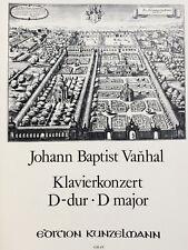 Vanhal - Klavierkonzert D-dur