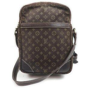 Louis Vuitton Shoulder Bag Danube M95228 Browns Monogram Mini lin 1513664