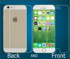 HQ PREMIUM FRONT AND BACK SCREEN GUARD PROTECTOR SHIELD FOR IPHONE 6 PLUS 5.5""