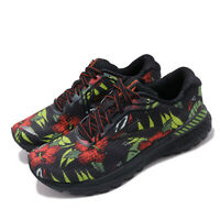 Brooks Adrenaline GTS 20 Tropical Black Green Men Road Running Shoes 110307 1D
