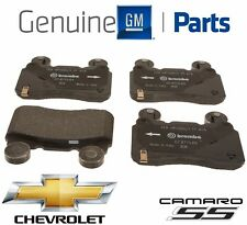 NEW Front Brake Pad Set Genuine For Chevy Camaro SS V8 6.2L NO Supercharger